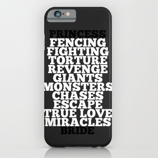 Princess Bride iPhone & iPod Case