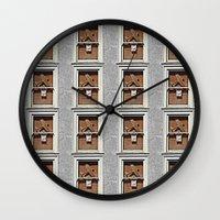 Friendly Skies  Wall Clock