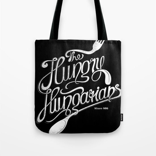 The Hungry Hungarians Tote Bag