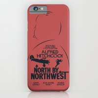 North by Northwest - Hitchcock Movie Poster iPhone 6 Slim Case