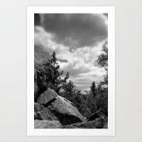 Storm A Coming Art Print