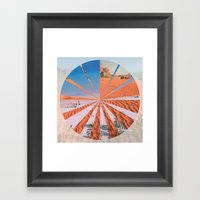 Wadi Rum Vs. Tenerife Framed Art Print