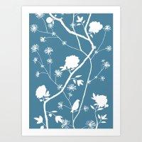 Jenny Chinoiserie Simple… Art Print