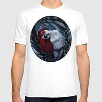 The Dark Side Of My Mind… Mens Fitted Tee White SMALL