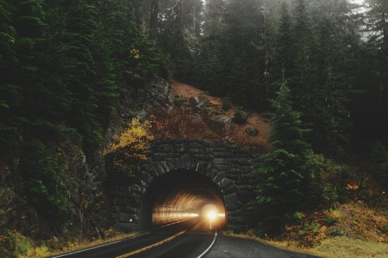 Rainier Tunnel Art Print