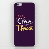 Clear iPhone & iPod Skin