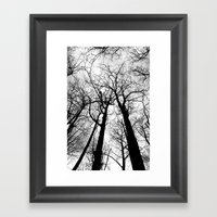As Darkness Falls Framed Art Print