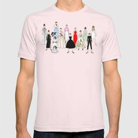 Audrey Hepburn Think Pink Outfits Fashion Mens Fitted Tee Light Pink SMALL