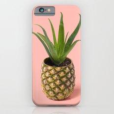 Pineapple Cactus pot iPhone 6 Slim Case