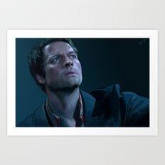 Castiel. Season 9 Art Print