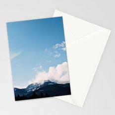 Clouds over the Mountains Stationery Cards