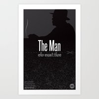 Film Friday No. 9, The Man Who Wasn't There Art Print