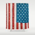USA Shower Curtain