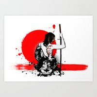 Trash Polka - Female Sam… Art Print