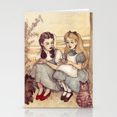 Dorothy And Alice Stationery Cards