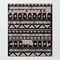 Aztec 4# Canvas Print