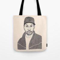 Denzel Washington Portrait Tote Bag