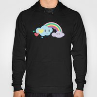 Clouds and Rainbows Kawaii Hoody