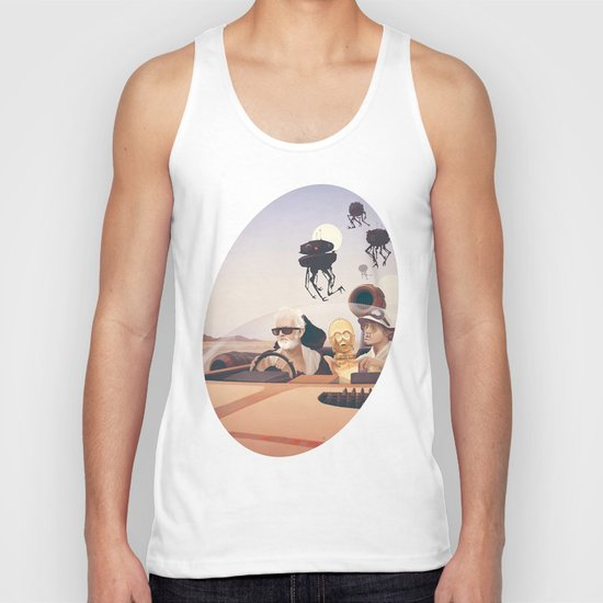 Fear and Loathing on Tatooine Unisex Tank Top