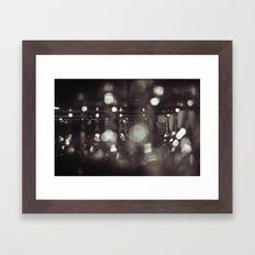 Wineglasses Framed Art Print