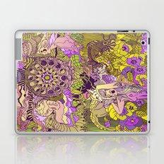 Garden Pansy Laptop & iPad Skin