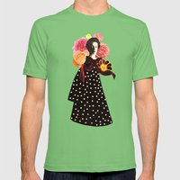 a rose by any other name Mens Fitted Tee Grass SMALL