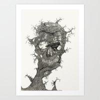 Crows Nest Art Print