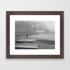 Fog Over Dover Framed Art Print