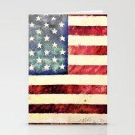 Vintage American Flag Stationery Cards