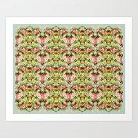 Green Fern Art Print