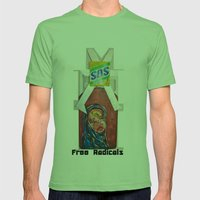 Free Radicals Mens Fitted Tee Grass SMALL