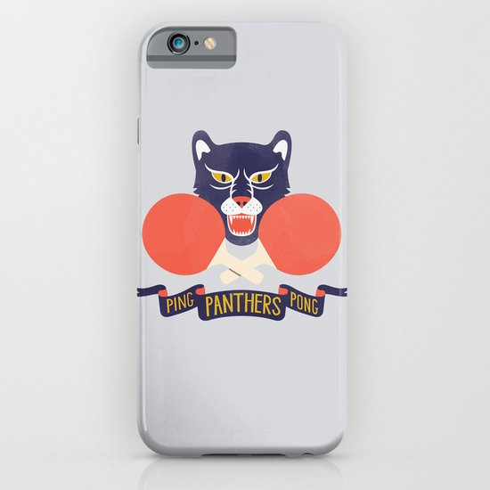Ping Pong Panthers iPhone & iPod Case