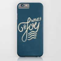 iPhone & iPod Case featuring Waves of Joy by Koning