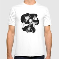 M. Leblanc Et Mlle. Lano… Mens Fitted Tee White SMALL