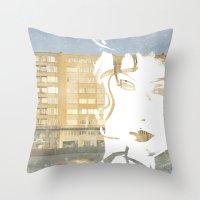 URB'ART Throw Pillow