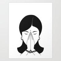 Modern Woman Art Print