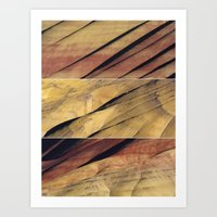 Painted Hills Triptych Art Print
