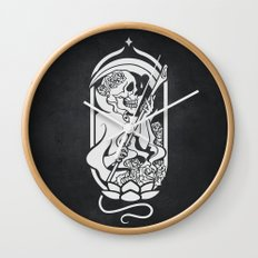 Death Tarot Wall Clock
