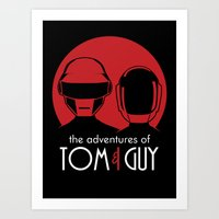 The Adventures Of Tom An… Art Print