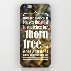 the thorn birds iPhone & iPod Skin