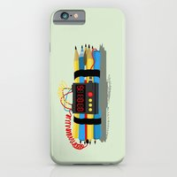 iPhone & iPod Case featuring Even ideas bomb by Inksider