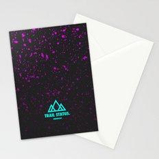 Trail Status / Grey Stationery Cards