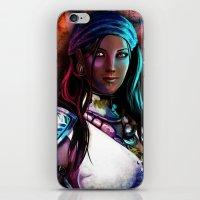Pirate Queen iPhone & iPod Skin