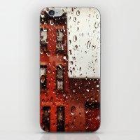 Rainy Day in Brooklyn iPhone & iPod Skin
