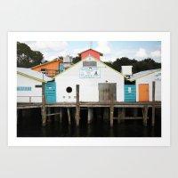 Dockside  Art Print