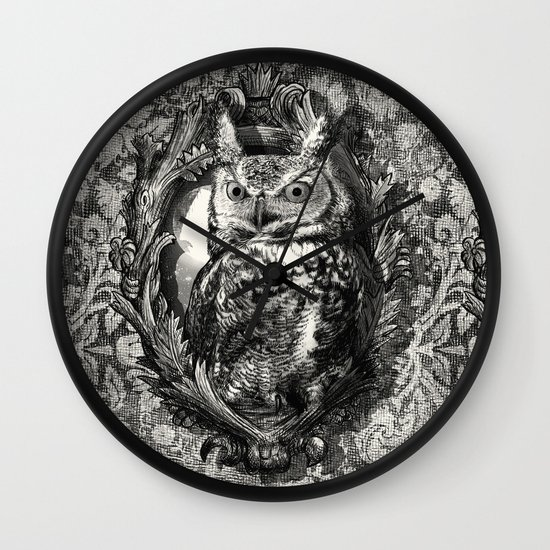 Nightwatch - by Eric Fan and Garima Dhawan  Wall Clock