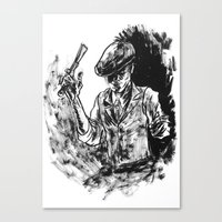 One Armed Gangster Canvas Print