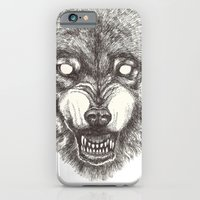iPhone & iPod Case featuring Day wolf by Polkip