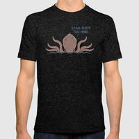 Monster Issues - Kraken Mens Fitted Tee Tri-Black SMALL