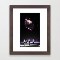 Explore The Unknown Framed Art Print